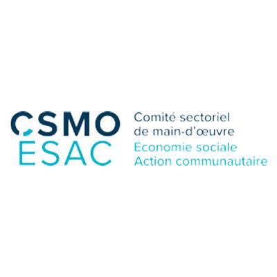 Logo Comité sectoriel de main-d'oeuvre, économie sociale d'action communautaire