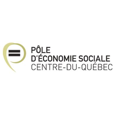 Logo Pôle d'économie sociale Centre-du-Québec
