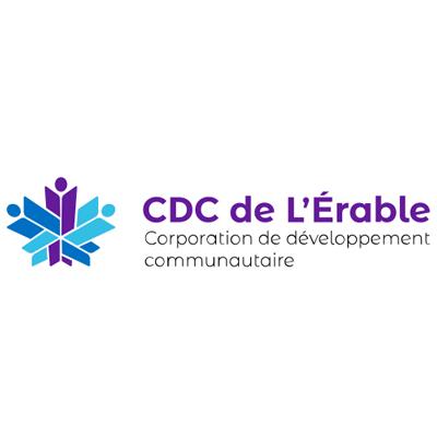 Logo CDC de l'Érable, corporation de développement communautaire